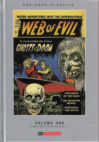 Image for Web Of Evil - Volume One - Pre Code Classics - Bookshop Edition