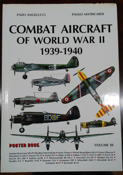 Image for Combat Aircraft of World War II 1939-1940 Volume III