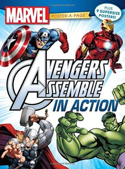 Image for Marvel Avengers Poster Book