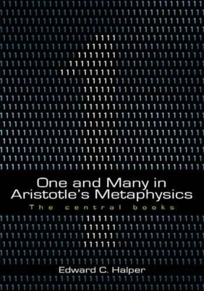 Image for One and Many in Aristotle's Metaphysics: The Central Books