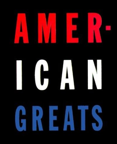Image for American Greats