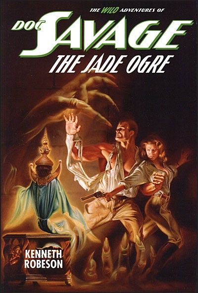 Image for DOC SAVAGE THE JADE OGRE Deluxe Hardcover (The Wild Adventures Of Doc Savage) (Signed)