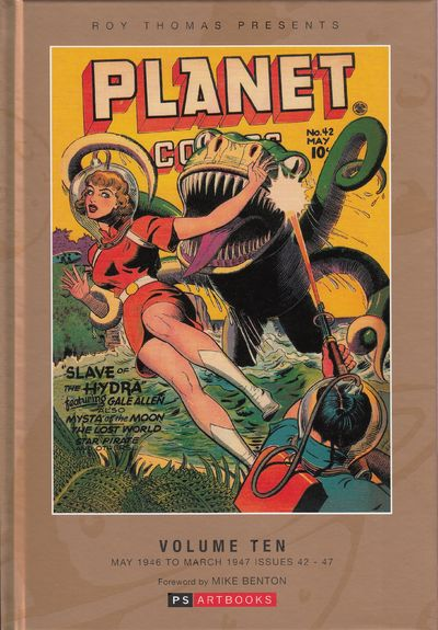Image for ROY THOMAS PRESENTS PLANET COMICS HC VOL 10 Bookshop Edition