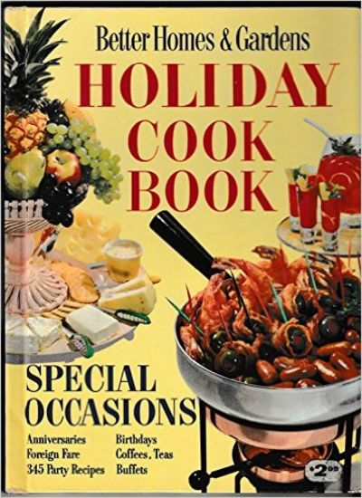 Image for Better Homes and Gardens Holiday Cook Book