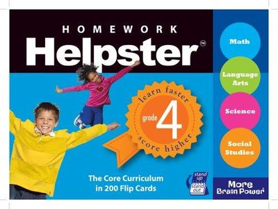 Image for Homework Helpster Grade 4