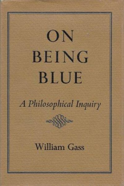 Image for On Being Blue: A Philosophical Inquiry