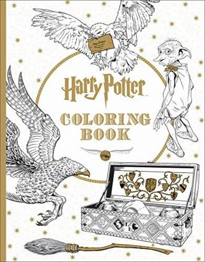 Image for Harry Potter: The Official Coloring Book #1