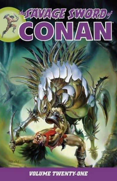 Image for Savage Sword of Conan Volume 21