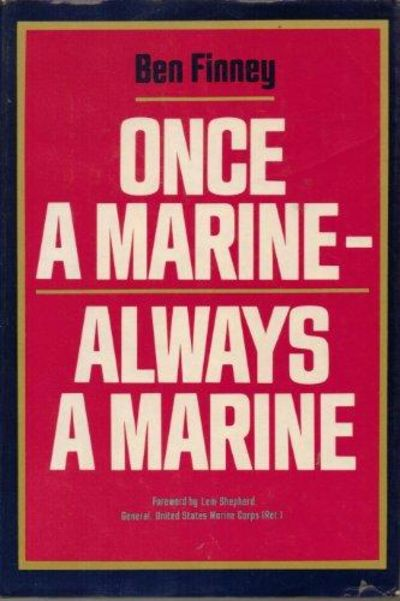 Image for Once A Marine-Always A Marine