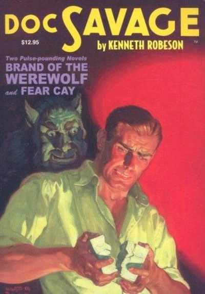 Image for Brand Of The Werewolf / Fear Cay (Doc Savage, Vol. 13) (Signed)