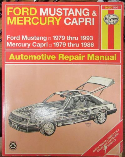Image for Haynes Ford Mustang (1979-1993) & Mercury Capri (1979-1986) Automotive Repair Manual