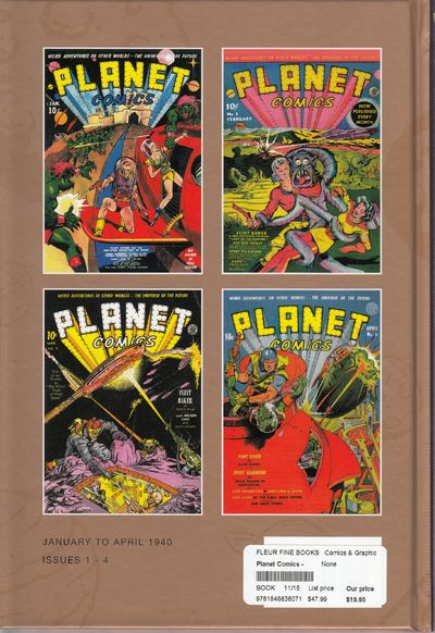 Image for Planet Comics - Volume One - Bookshop Edition