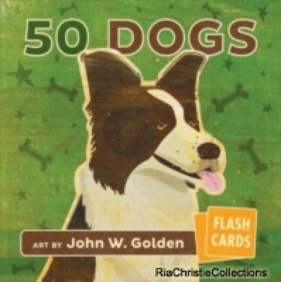 Image for JOHN W GOLDEN 50 DOGS FLASH CARDS