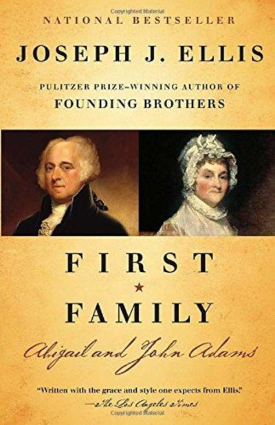 Image for First Family: Abigail And John Adams (Vintage)