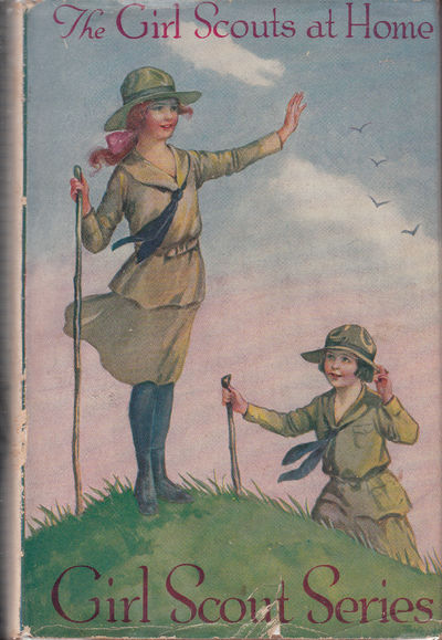 Image for The Girl Scouts At Home, Or Rosanna's Beautiful Day - Girl Scout Series, Volume 1.