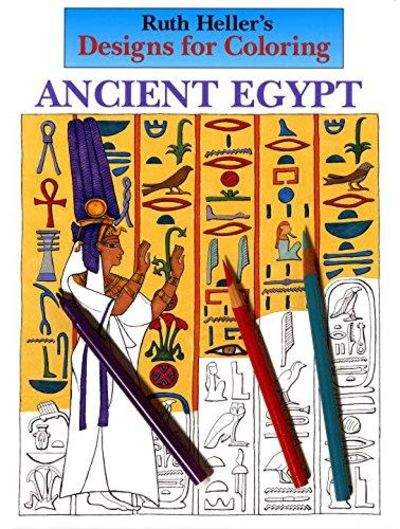 Image for Designs For Coloring: Ancient Egypt