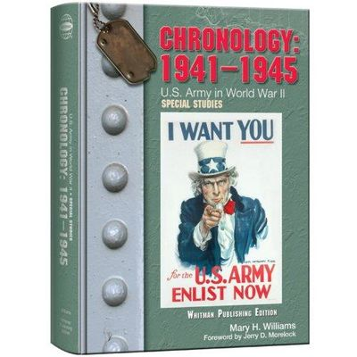 Image for Chronology, 1941-1945: U.S. Army in World War II: Special Studies (United States Army in World War )