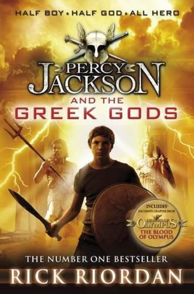 Image for Percy Jackson and the Greek Gods (Percy Jackson's Greek Myths)