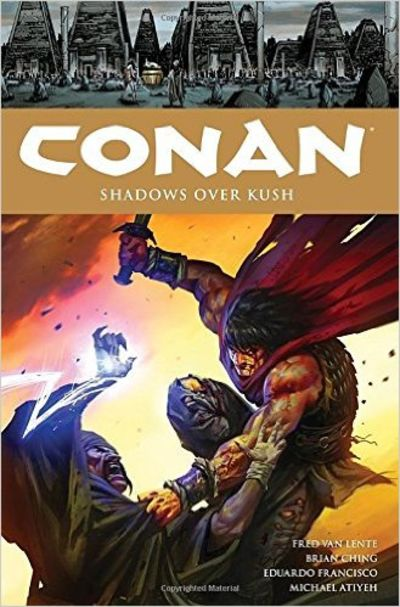 Image for Conan Volume 17 Shadows Over Kush