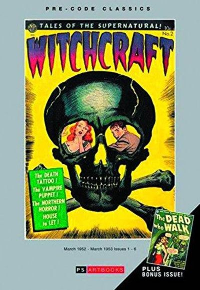 Image for WITCHCRAFT Vol 1 Horror Comics 1950s Pulps (Bookshop Edition)