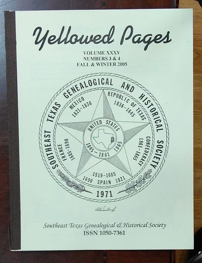 Image for YELLOWED PAGES: Volume 35 Number 03 & 04