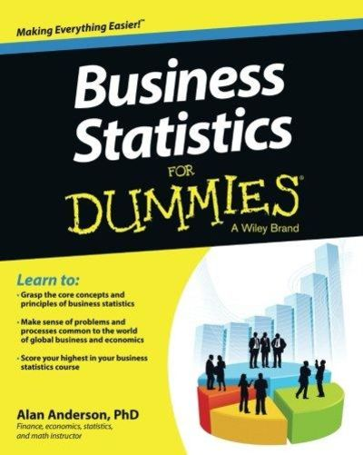 Image for Business Statistics For Dummies