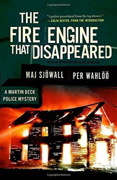 Image for The Fire Engine That Disappeared (Vintage Crime/Black Lizard)