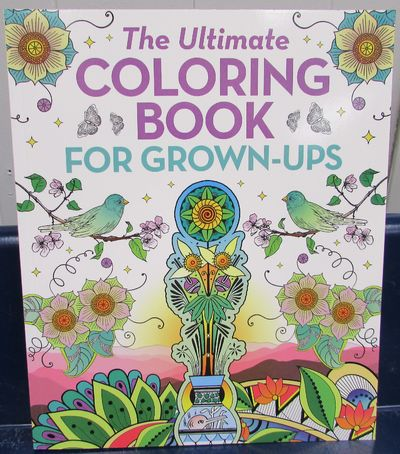 Image for The Ultimate Coloring Book For Grown Ups