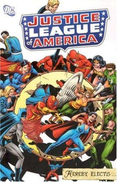 Image for Justice League Of America Hereby Elects
