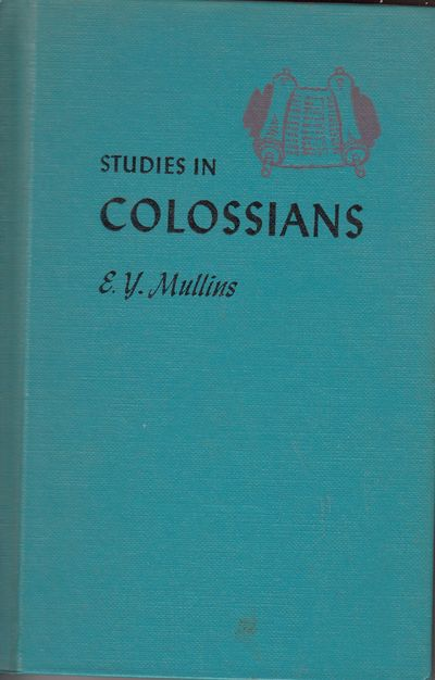 Image for Studies in Colossians