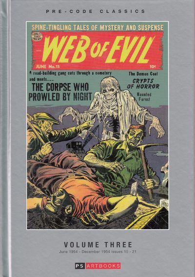 Image for Web Of Evil - Volume Three - Pre Code Classics - Bookshop Edition
