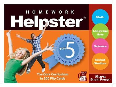 Image for Homework Helpster Grade 5 (Slipcase Edition) (Homework Helpster (Play Bac)
