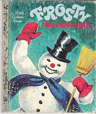 Image for Frosty The Snow Man, Adapted from the Song of the Same Name (a little Golden book)