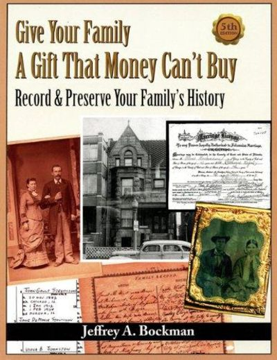Image for Give Your Family a Gift That Money Can't Buy - Record & Preserve Your Family History