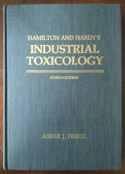 Image for Hamilton and Hardy's Industrial Toxicology 4th Edition