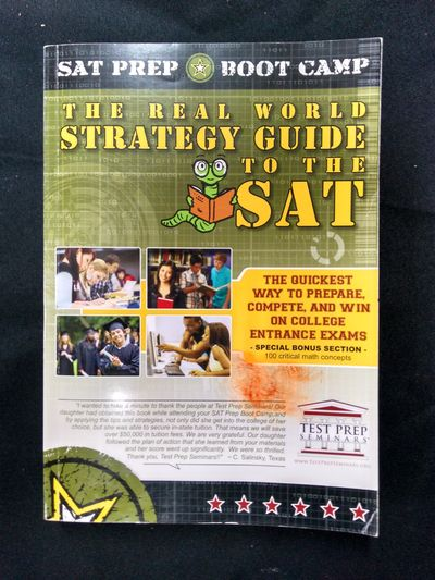 Image for The Real World Strategy Guide to the SAT