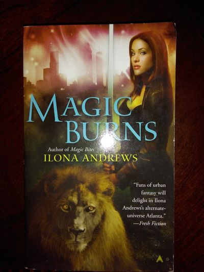 Image for Magic Burns  (Kate Daniels, Book 2)
