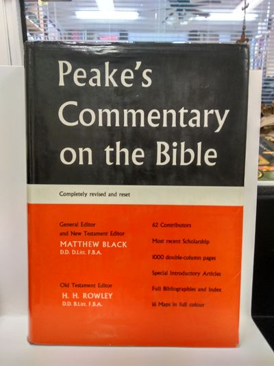 Image for Peake's Commentary on the Bible