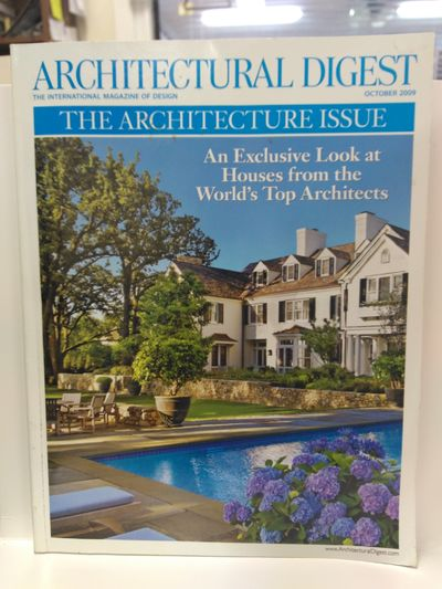 Image for Architectural Digest {Volume 66, Number 10, October 2009}