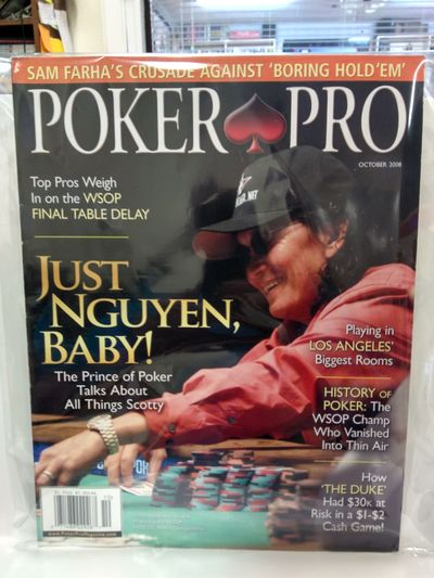 Image for Poker Pro October 2008