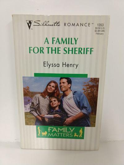 Image for Family for the Sheriff (Family Matters) (Silhouette Romance, 1353)