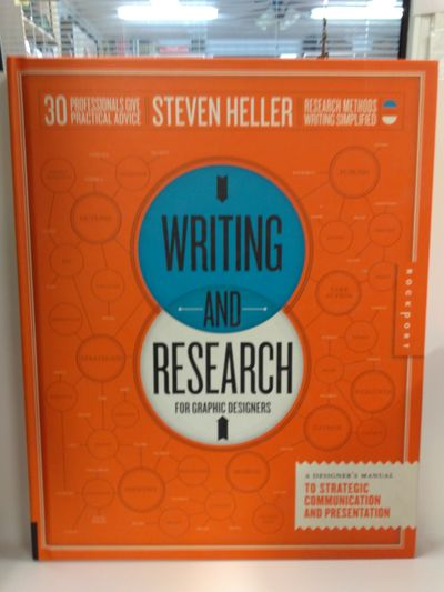 Image for Writing and Research for Graphic Designers: a Designer's Manual to Strategic Communication and Prese