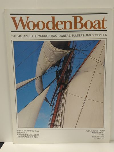 Image for Wooden Boat Magazine July August 1992 Number 107