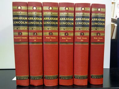 Image for Abraham Lincoln -The Sangamon Edition, 6 Vol Set: The Prairie Years (2 Vol) and The War Years(4 Vol)