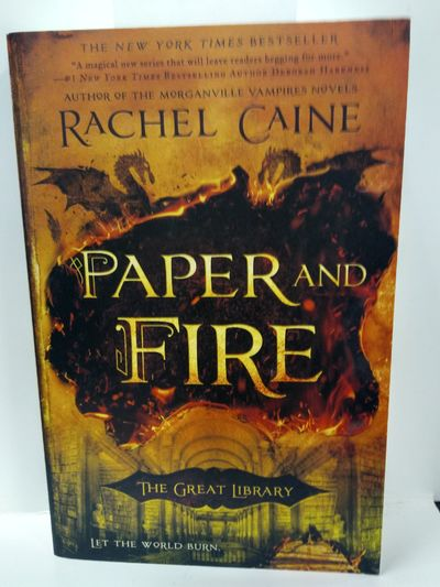 Image for Paper and Fire (The Great Library)