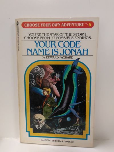 Image for Your Code Name Is Jonah (Choose Your Own Adventure, Book 6)