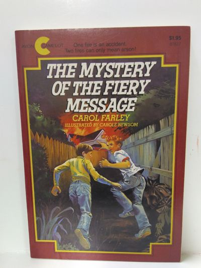 Image for Mystery of the Fiery Message (an Avon/Camelot Book)