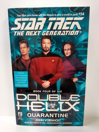 Image for Quarantine (Star Trek The Next Generation: Double Helix, Book 4)