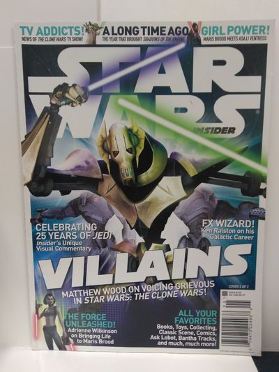 Image for Star Wars Insider Magazine (Cover 2 of 2) Issue 105 December 2008