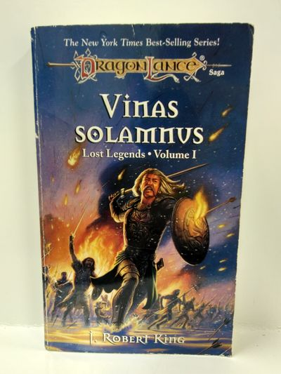 Image for Vinas Solamnus (Dragonlance Novel: Lost Legends Vol. 1)